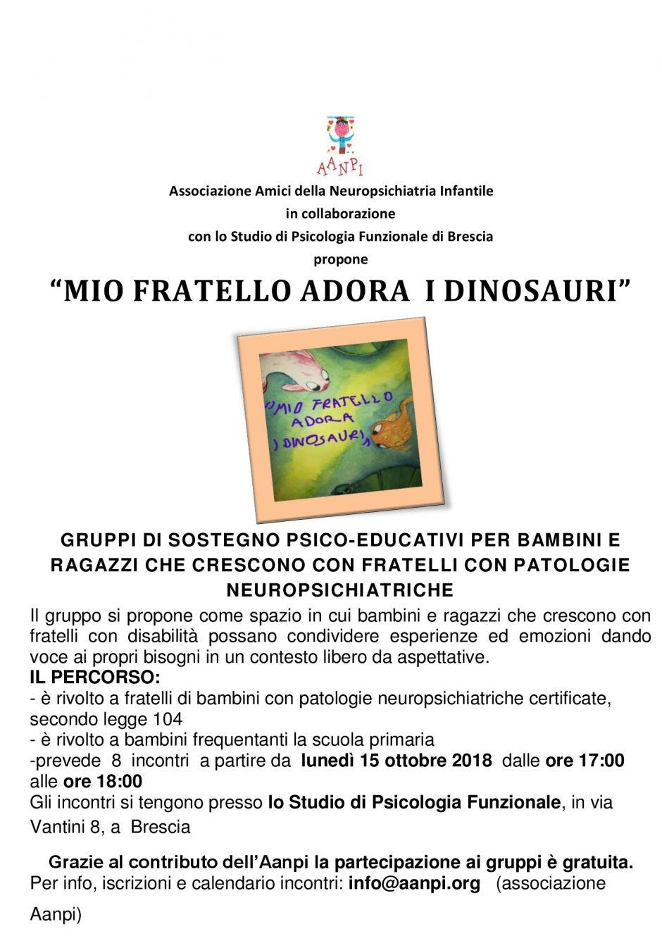 Progetto MIO FRATELLO ADORA I DINOSAURI