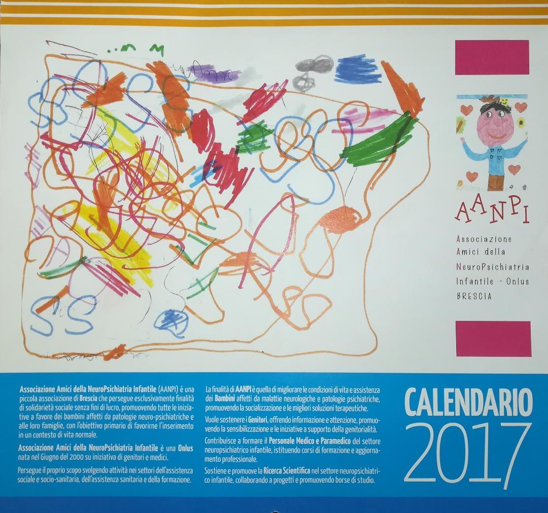 "Calendario AANPI 2017 – ""Disegni tu?"""